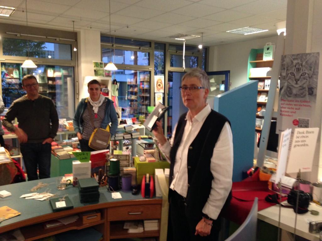 Susanne Martin von der Schiller Buchhandlung
